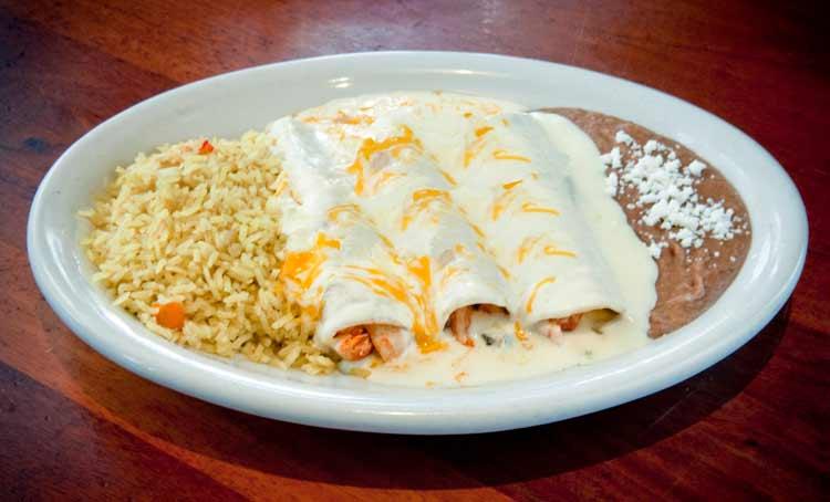 Gringo's Chicken Enchiladas
