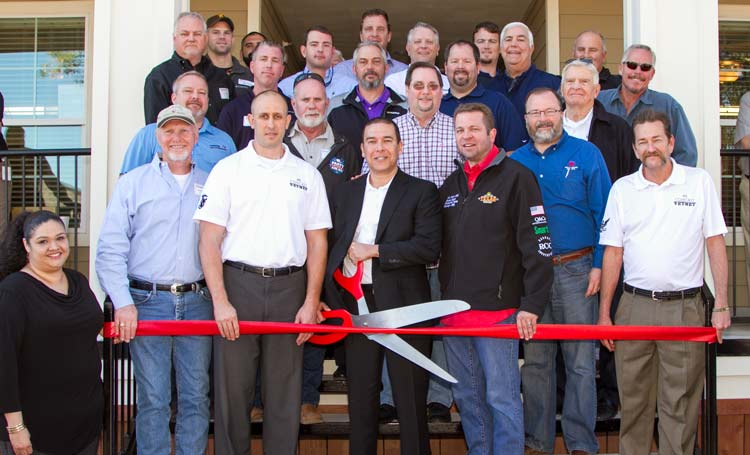 Ribbon Cutting for new Camp Hope Facility