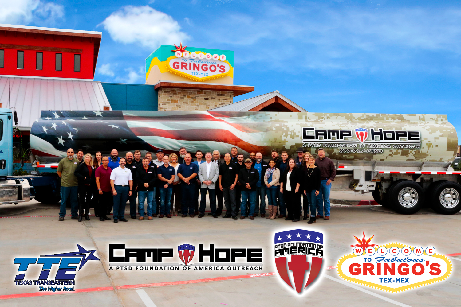 Gringo S Partners With Camp Hope And Tte Gringos Tex Mex