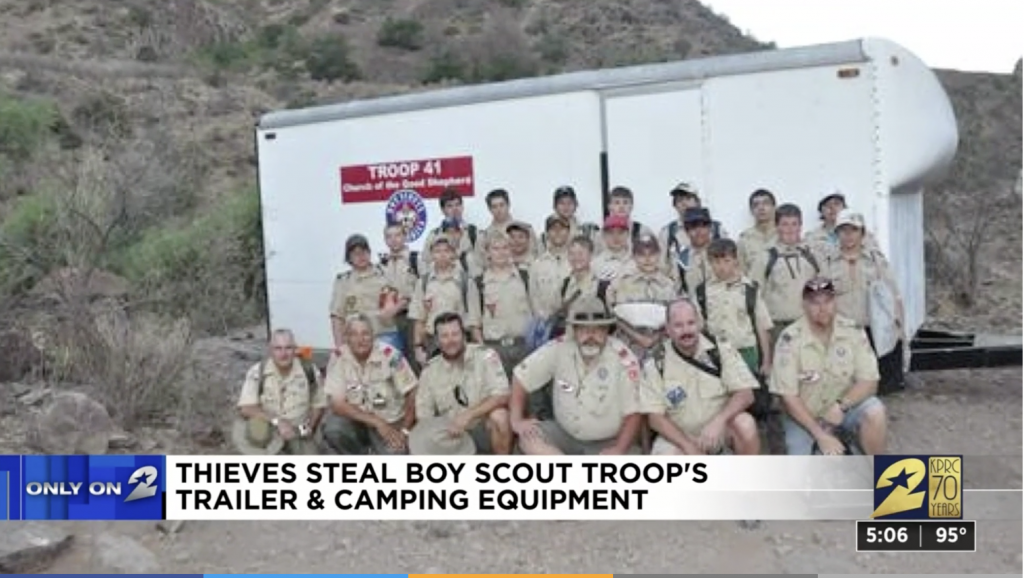 Restaurant Reaches Out To Help Local Boy Scout Troop